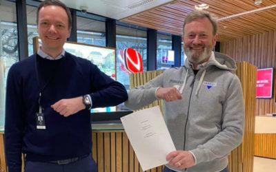 Sparebanken Vest fornyet sponsoravtalen med tre år