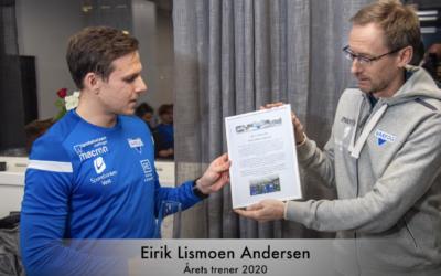 Årets trener 2020 – Eirik Lismoen Andersen